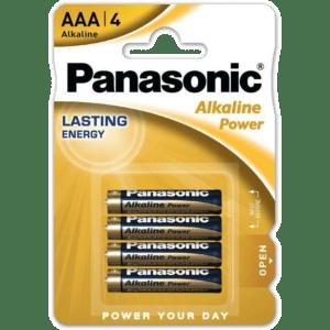 Panasonic Alkaline Power AAA (4τμχ)