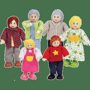 Hape Happy Family - Caucasian