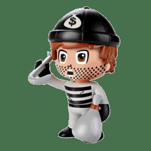 Giochi Preziosi Pinypon Action Φιγούρα - Ληστής (700014733)