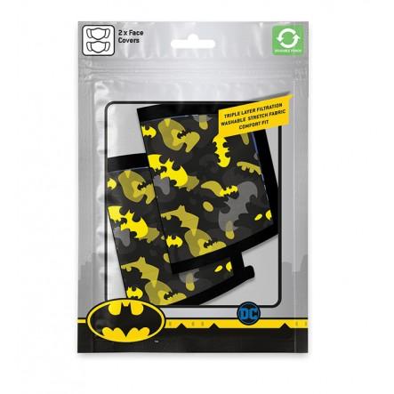 Μάσκα Υφασμάτινη 3 Στρώσεων (2Τμχ) Batman