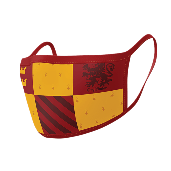 Μάσκα Υφασμάτινη 3 Στρώσεων (2Τμχ) gryffindor harry potter