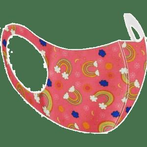 PMS International Υφασμάτινη Παιδική Μάσκα - Rainbow 1 Τμχ (PM755034-2)