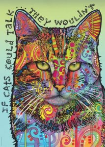 Heye Puzzle 1000pcs, Russo If Cats Could Talk (29893)