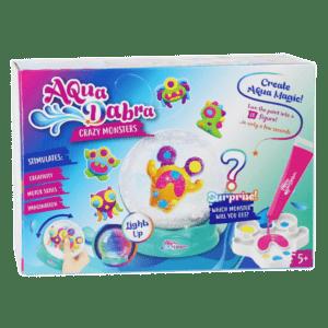 Five Stars AquaDabra Κατασκευή Χιονόμπαλα Με Φως Crazy Monsters 8 Τμχ. (323-20)