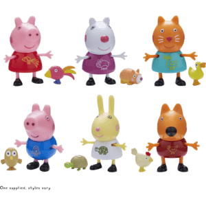 Giochi Preziosi Peppa Pig Φιλαράκια & Ζωάκια-6 Σχέδια (PPC44000)