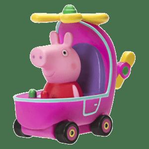 Giochi Preziosi Peppa Pig Μίνι Οχηματάκια - Helicopter (PPC24001)