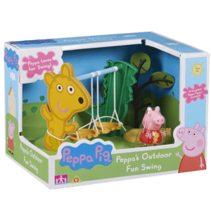 Giochi Preziosi Peppa Pig Σετ Παιχνιδιού, Παιδική Χαρά - Κούνιες (PPC21000)
