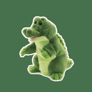 Trudi Puppets Λούτρινη Μαριονέτα Κροκόδειλος (TUD29918)