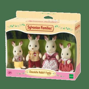 Epoch Sylvanian Families: Οικογένεια Chocolate Rabbit (4150)