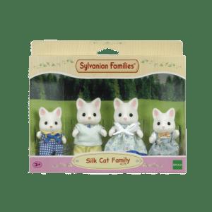 Epoch Sylvanian Families Silk Cat Οικογένεια (4175)