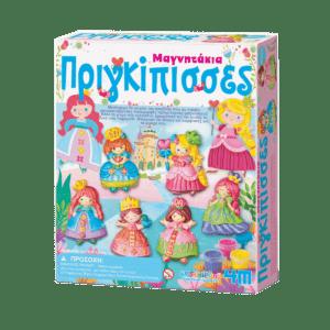 4M Κατασκευή Πριγκίπισσες Μαγνητάκια/Καρφίτσα (4M0148)