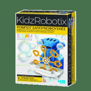 4M KidzRobotix Ρομπότ Σαπουνόφουσκες (4M0540)
