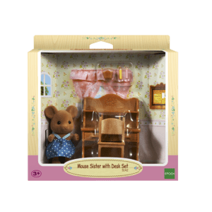 Epoch Sylvanian Families: Γραφείο με την Αδερφή Mouse (5142)