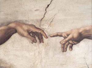 Editions Ricordi Puzzle 1000pcs - Michelangelo: Creazione Di Adamo (09651)