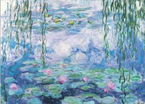 Editions Ricordi Puzzle 1000pcs - Monet: Nympheas (09590)