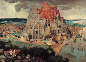 Editions Ricordi Puzzle 1000pcs - Bruegel : The Tower Of Babel (16056)