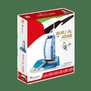 CubicFun 3D Puzzle 46pc, Burj Al Arab (C065h)