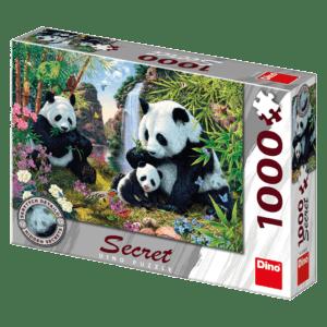 Dino Puzzle Secret Collection Pandas 1000pcs (53263)