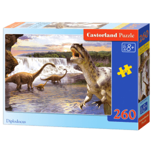 Castorland Puzzle 260pcs, Diplodocus (C-26999)