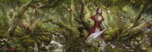 Heye Panorama Puzzle 1000pcs, Ortega: Forest Song (29869)