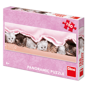 Dino Puzzle Γατάκια Κάτω από την Κουβέρτα 150pcs (39325)