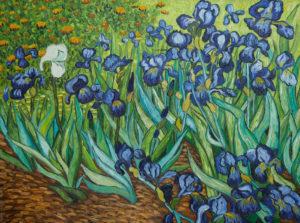 Editions Ricordi Puzzle 1000pcs - Vincent Van Gogh, IRISES (09589)