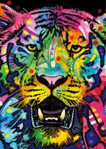 Heye Puzzle 1000pcs, Jolly Pets: Wild Tiger (29766)