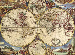 Editions Ricordi Puzzle 1000pcs - Map Of The World (16020)