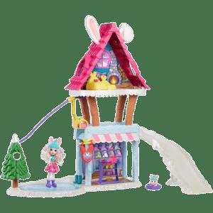 Mattel Enchantimals Χιονοδρομικό Σαλέ (GJX50)