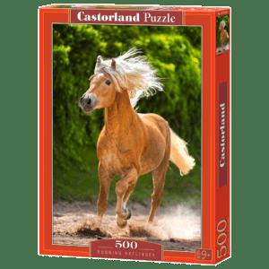 Castorland Puzzle 500pcs, Running Haflinger (Β-52981)