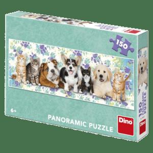 Dino Puzzle Σκύλοι & Γάτες 150pcs (39327)