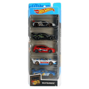 Mattel Hot Wheels Αυτοκίνητα Σετ των 5 Τεμαχίων Nightburnerz (1806/GHP58)