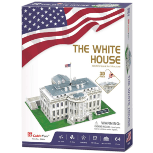 CubicFun 3D Puzzle 64pcs, The White House (C060h)
