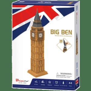 CubicFun 3D Puzzle 44pcs, Big Ben (C094h)