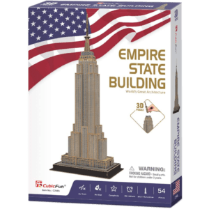 CubicFun 3D Puzzle 54pcs, Empire State Building (C246h)