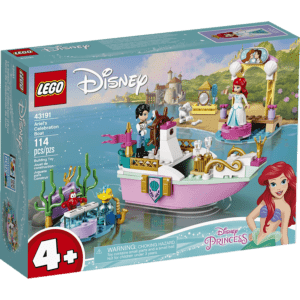 LEGO Disney: Princess Το Εορταστικό Σκάφος Της Άριελ (43191)