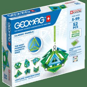 Geomag Σετ Classic Panels 52 - Green (471)