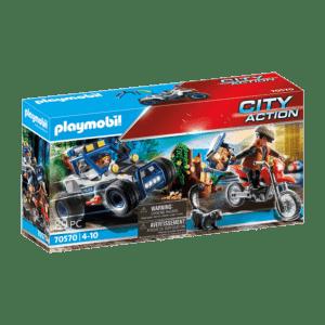 Playmobil City Action: Αστυνομική Καταδίωξη Off-Road (70570)