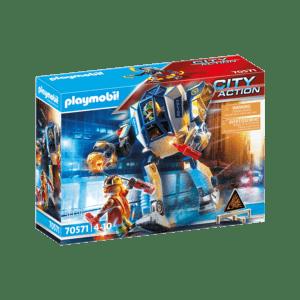 Playmobil City Action: Αστυνομικό Ρομπότ Και Ληστής (70571)