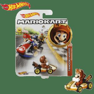 Mattel Hot Wheels® Mario Kart™ Tanooki Mario, Standard Kart (GBG25/GJH55)