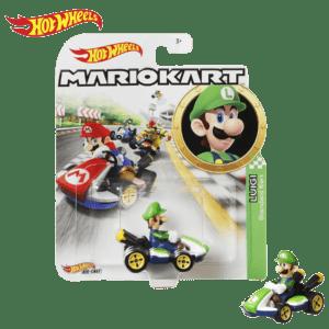 Mattel Hot Wheels® Mario Kart™ Luigi, Standard Cart (GBG25/GLP37)