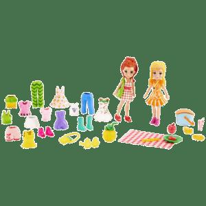 Mattel Polly Pocket™ Κούκλα Και Φίλη Με Ρούχα Και Αθλητικά Αξεσουάρ - Picnic Pretty Fashion Pack (GGJ48/GMN27)