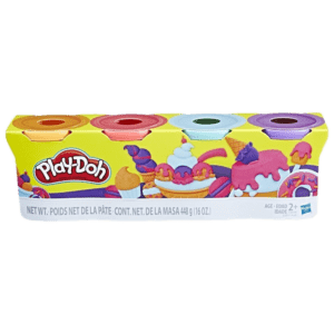 Hasbro Playdoh Sweet Color Pack 4 Βαζάκια (E4869/B5517)