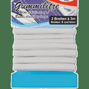 Λάστιχο Λευκό Πλακέ 6mm x3.5m (27697)
