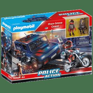 Playmobil Αστυνομική Επιχείρηση Σύλληψης Ληστών (70464)