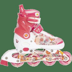 Amila In-Line Skates Αλουμινίου Ρυθμιζόμενο Μέγεθος 37-40 (48919)