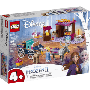 LEGO Disney: Frozen 2 Περιπέτεια της Έλσας με Άμαξα (41166)