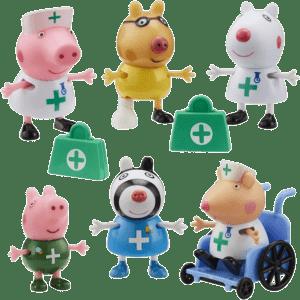 Giochi Preziosi Peppa Pig Σετ Φιγούρων Γιατροί & Νοσοκόμες (PPC95000)