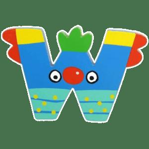 Tatiri Ξύλινο Γράμμα 'W' (00388)