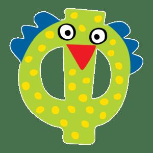 Tatiri Ξύλινο Γράμμα 'Φ' (01154)
